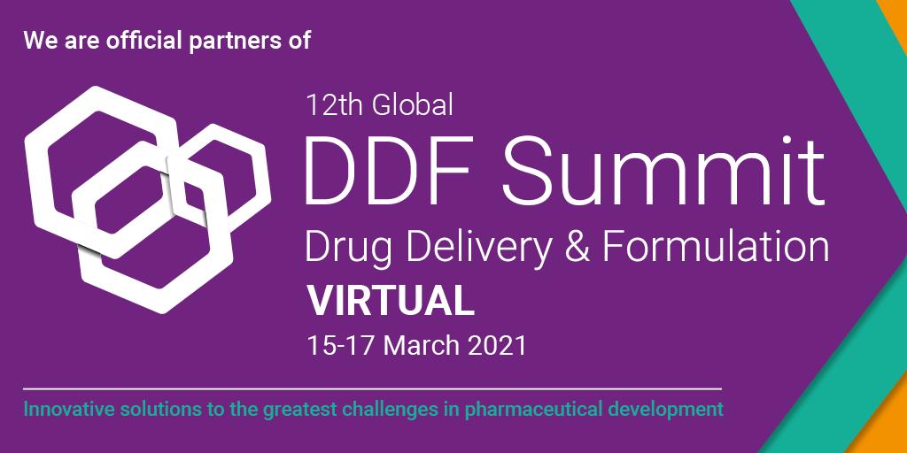 NANOMOL TECHNOLOGIES IS OFFICIAL PARTNER OF 12TH GLOBAL DDF SUMMIT DRUG DELIVERY & FORMULATION