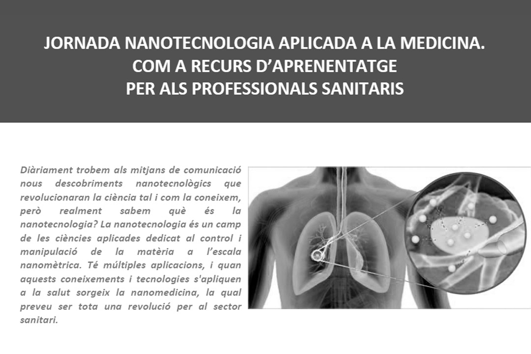 Nanomol Technologies has participated in a Nanotechnology Conference applied to Medicine for Health Professionals