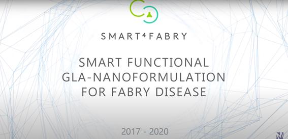 DELOS based nanoformulation for Fabry Disease designed as Orphan Drug